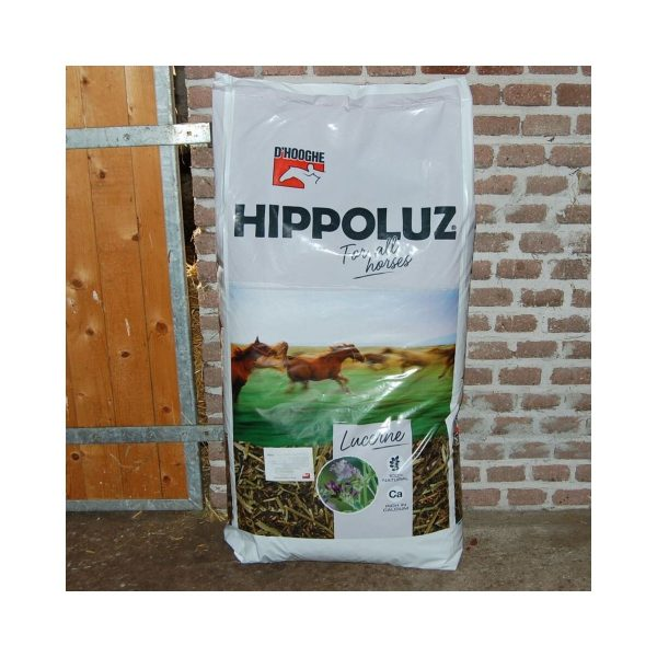 Hippoluz luzerne mix voor paarden (20kg)