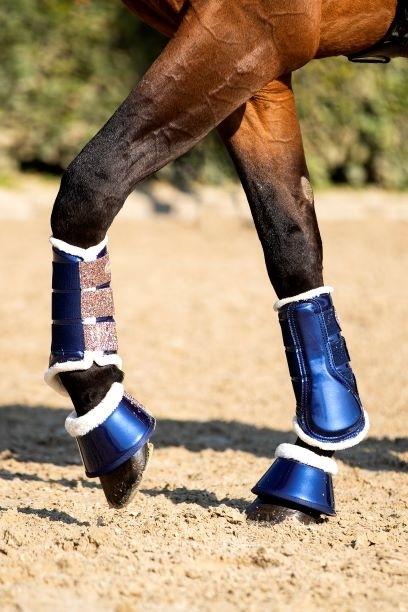 dressage boots blauw