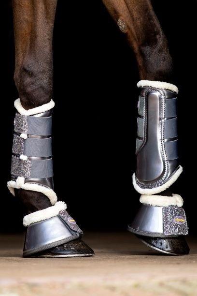 Dressage boots Grijs