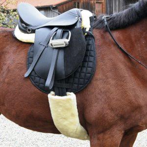 Zadelkussen Komfort Lamsvacht Pony 6