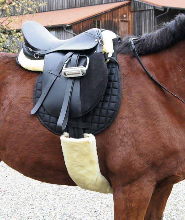 Zadelkussen Komfort Lamsvacht Pony 4
