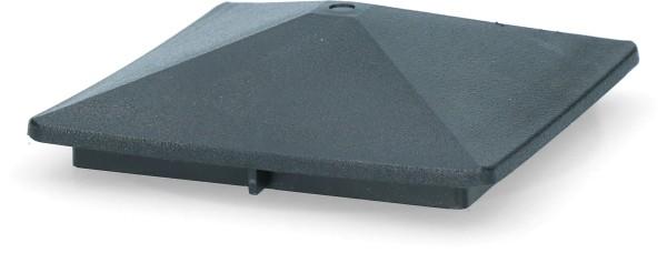 ZoneGuard Vierkant paalkapje 75 mm