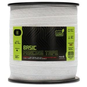 ZoneGuard 40 mm Basic afrasteringslint wit 200 m 3
