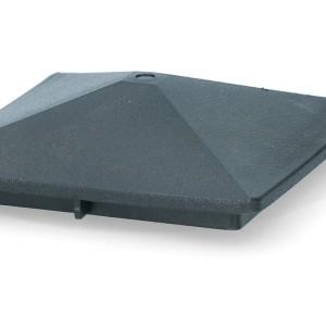 ZoneGuard Vierkant paalkapje 75 mm 8