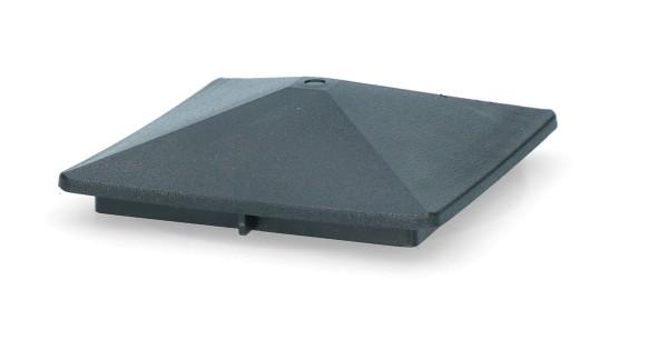 ZoneGuard Vierkant paalkapje 75 mm 3