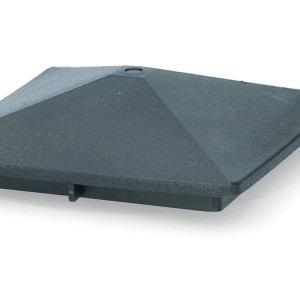 ZoneGuard Vierkant paalkapje 100 mm 8