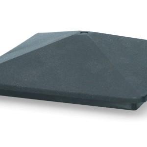 ZoneGuard Vierkant paalkapje 75 mm 9