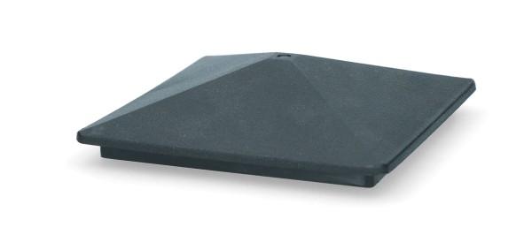 ZoneGuard Vierkant paalkapje 75 mm 4