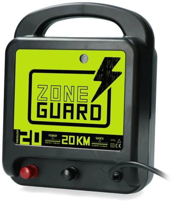 ZoneGuard Schrikdraadapparaat Lichtnet 20 km 2