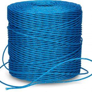 ZoneGuard 3 mm afwerend afrasteringsdraad blauw 400 m 4