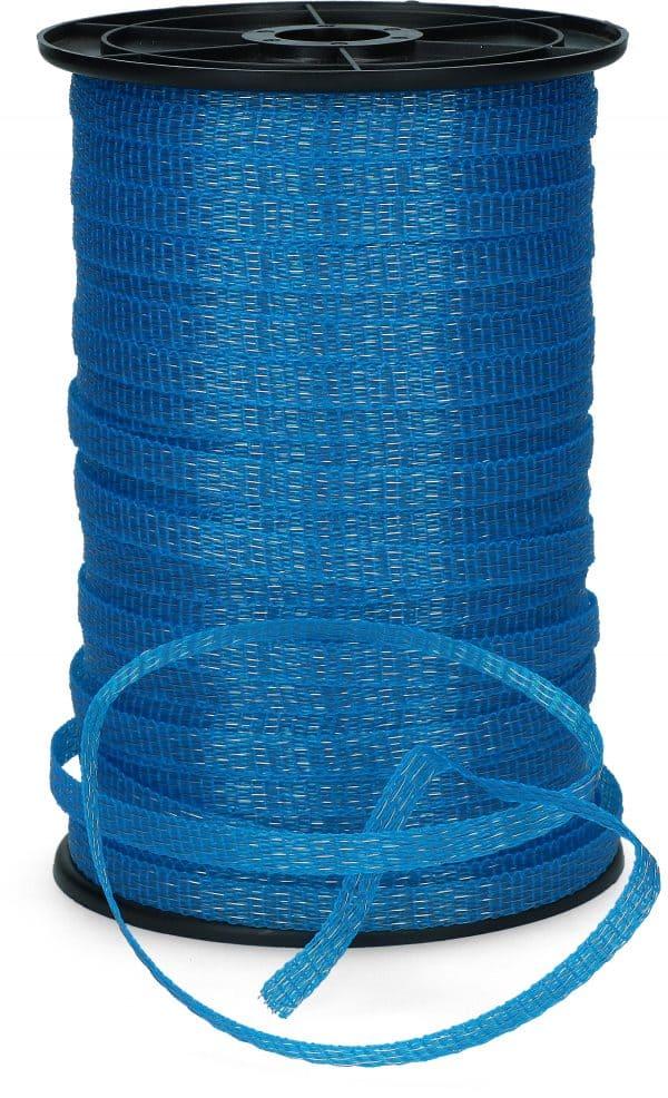 ZoneGuard 10 mm afwerend afrasteringslint blauw 200 m 2