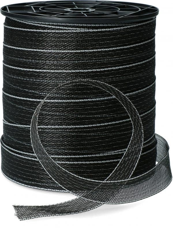 ZoneGuard Basic afrasteringslint 40 mm zwart 200 m 2