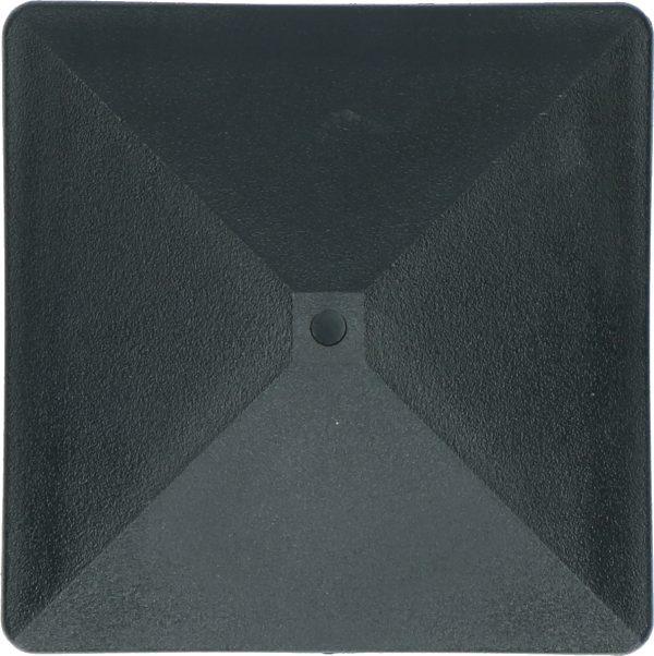 ZoneGuard Vierkant paalkapje 75 mm 5
