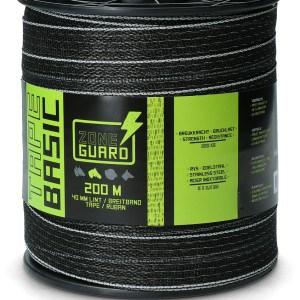ZoneGuard Basic afrasteringslint 40 mm zwart 200 m