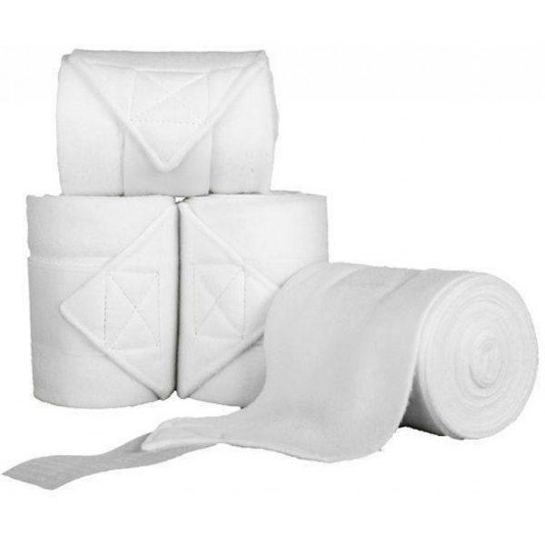 Fleecebandages wit