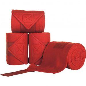 Fleecebandages Rood