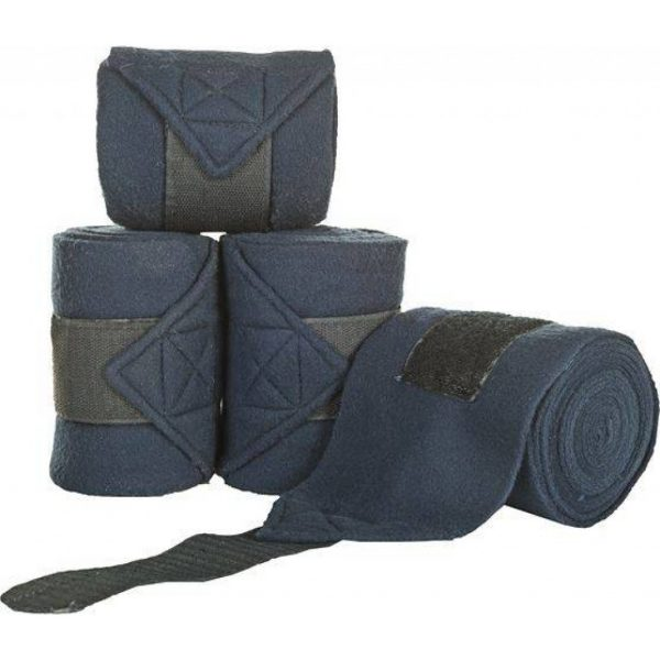 fleecebandages donkerblauw